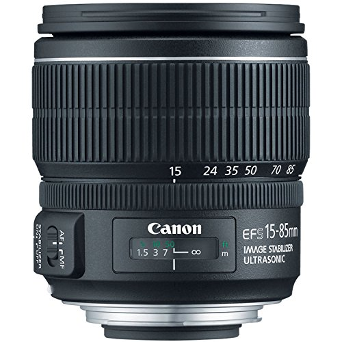 Canon EF-S 15-85mm f/3.5-5.6 IS USM UD Standard Zoom Lens for Canon Digital SLR Cameras (Renewed) (Canon Zoom Lens Ef S 17 85mm)