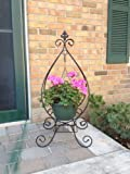 hanging plant stand - Artscapes Tear Drop Dual Purpose Folding Plant Stand