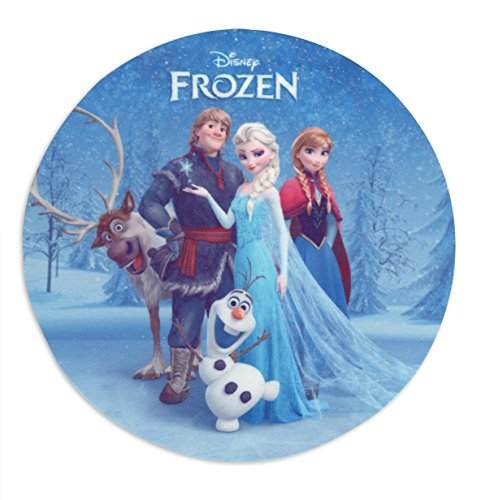 Frozen Tortenaufleger Sven, Kristoff, Anna & Elsa, essbar aus Zucker (16cm)