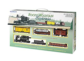 Bachmann Industries Rocky Mountain Express Ready to Run Electric Train Set, On 30 Scale