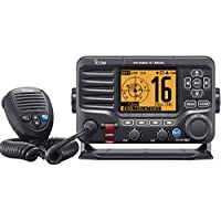 ICOM IC-M506 31 Fixed Mount VHF with Hailer, N2K, Rear Mic