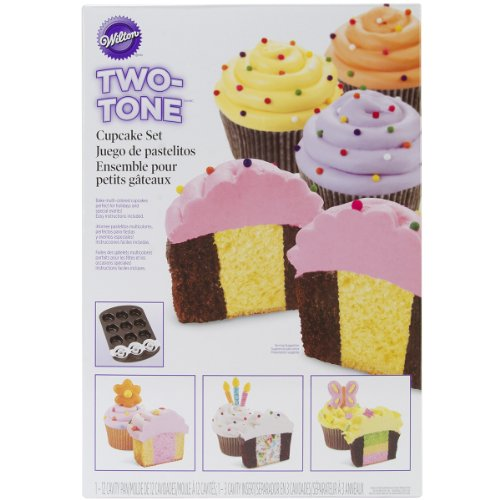 - Wilton 2105-7783 Two Tone Cupcake Baking Set