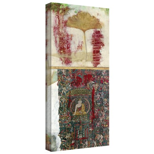 Art Wall Medicine Buddha Gallery Wrapped Canvas Art by Elena Ray, 48 by 18-Inch