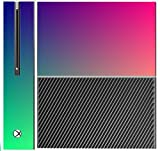 Colorful Design Colors of the Rainbow Pattern Xbox One Console Vinyl Decal Sticker Skin by Moonlight Printing