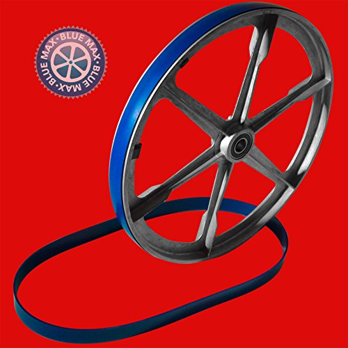 2 BLUE MAX ULTRA DUTY URETHANE BAND SAW TIRES FOR PIT BULL BAND SAW MODEL WA-14M by Generic