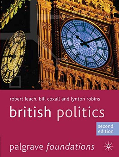 British Politics (Palgrave Foundations Series) (British Politics compare prices)