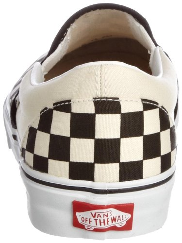 Black Vans Classics Check White Tm Core Off on Slip wa4rqAaX