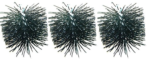 Rutland Products 16906 6-Inch Poly Chimney Cleaning Brush (3 BRUSHES)