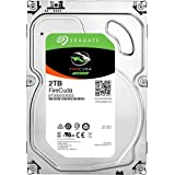 Seagate 2TB FireCuda Gaming SSHD (Solid State Hybrid Drive) - 7200 RPM SATA 6Gb/s 64MB Cache 3.5-Inch Hard Drive