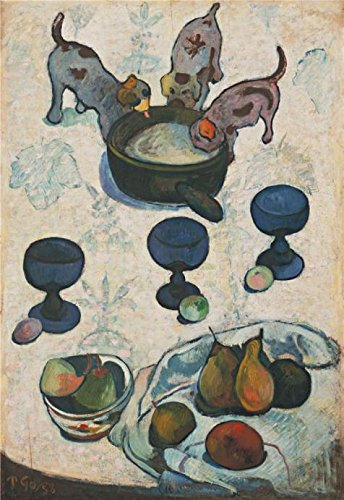 High Quality Polyster Canvas ,the Cheap But High Quality Art Decorative Art Decorative Prints On Canvas Of Oil Painting 'Still Life With Three Puppies', 16x23 Inch / 41x59 Cm Is Best For Gym Artwork And Home Decor And Gifts