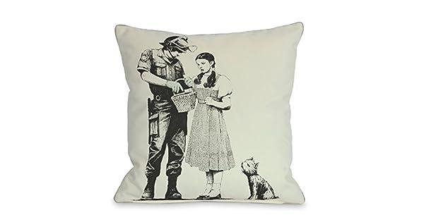 Amazon.com: Una Bella Casa Dorothy Throw almohada cubierta ...