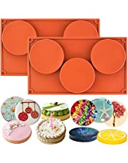 Funshowcase 3-Cavity Large Round Disc Candy Silicone Mould