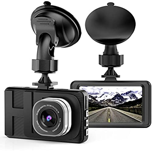 Buy Dash Cam Camera for Cars with Full HD 1080P 170 Degree Super Wide Angle Cameras, 3.0