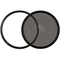 Goldwood Snap On 12 Subwoofer Grille Steel Mesh Speaker Black (SGM12)