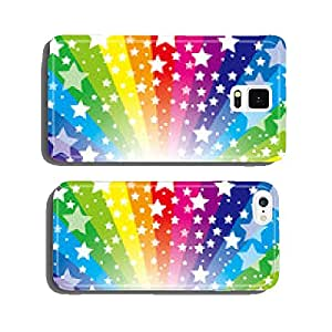 Background material wallpaper (stardust and the rainbow colors of the radiation) cell phone cover case iPhone6