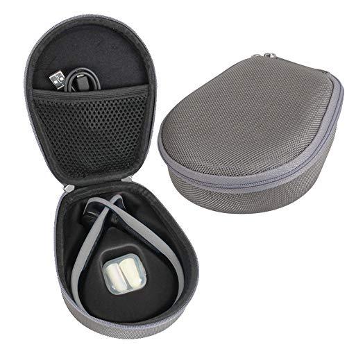 Hermitshell Hard Case fits AfterShokz Trekz Titanium Open Ear Wireless Bone Conduction Headphones AS600 (Gray)