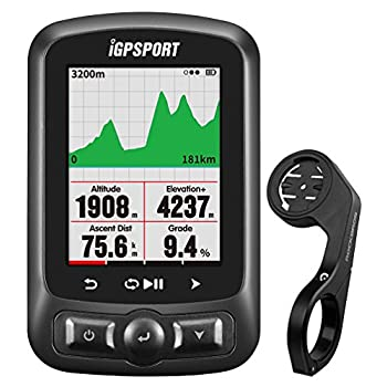 Image of IGPSPORT GPS Bicycle Computer Wireless igs618 ANT+ Bluetooth Bike Computer GPS Cycle Computer Waterproof IPX7 Support Power Meter, Speed/Cadence Sensor, Heart Rate Monitor