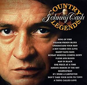Johnny Cash Country Legends Johnny Cash Amazon Com Music
