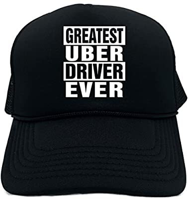 Signature Depot Funny Trucker Hat (Greatest Uber Driver Ever) Unisex Adult Foam