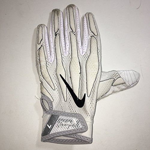 2017 Season LEFT HAND ONLY Trey Williams #34 Game Used - Nike Superbad 4.0 Football Glove Dallas Cowboys Large ()