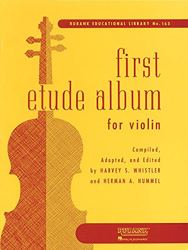 Violin Book First (First Etude Album For Violin First Position (Rubank Educational Library))
