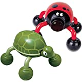 Lady Buzz AND Tickles the Turtle Pet Massagers