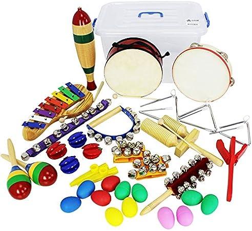 A-Star AP0013 - Paquete de clase de percusión, 27 piezas ...