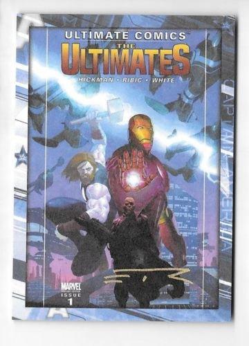(2014 Upper Deck Captain America The Winter Soldier Esad Ribic Auto Comic Cover)