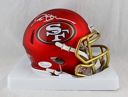best sneakers fe8ab 66ea0 Amazon.com: Deion Sanders Signed San Francisco 49ers BLAZE ...