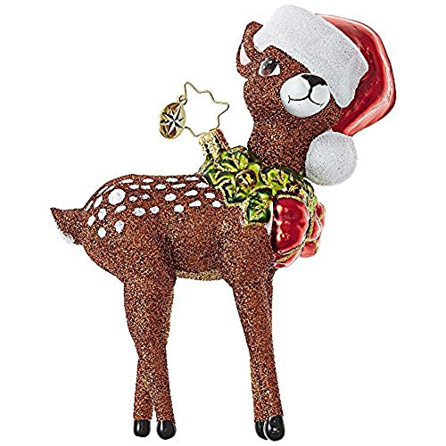 Christopher Radko Oh, Deer Me! Animal Christmas Ornament from Christopher Radko