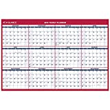 "AT-A-GLANCE 2019 Wall Calendar, 48"" x 32"", Jumbo, Erasable, Dry Erase, Reversible, Vertical / Horizontal (PM32628)"