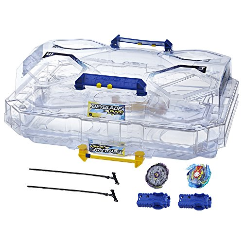 Beyblade Burst Evolution Switchstrike Battle Tower – Includes 2-Level Beystadium