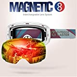 OutdoorMaster Ski & Snowboard Goggles, ZEALOT with