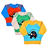 Product review for Toddler Baby Boys' Cable Knit Sweater Long Sleeve Elephant Prints Kid Pullover Sweatshirt