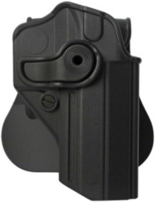 IMI Defense Retention Roto Tactical Polímero Holster Jericho/Baby de Eagle 9mm/.40, Sarsilmaz kilinc Mega 2000Pistol Handgun