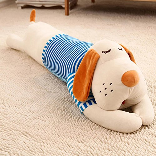 Cute Sleep Pillow Big Dog Hugging Pillow,Super Soft Stuffed Animals Plush Puppy Dog ,Great for Party Home Decor (Big Kid Candy)