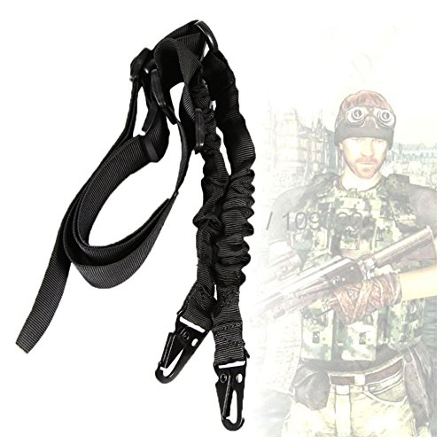 Rifle Slings JTENG ¨ Multi-use 2 Point 2-in-1 Rifle Gun Sling Adjustable Strap Cord for Outdoor Sports, Hunting