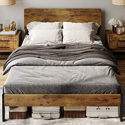 DICTAC Full Platform Bed Frame