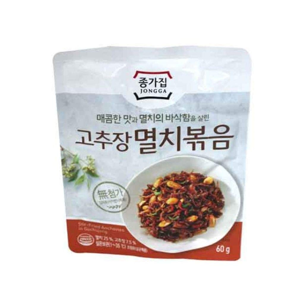 Stir Fried Anchovy with Pepper Suace 60g 종가집 고추장 멸치볶음