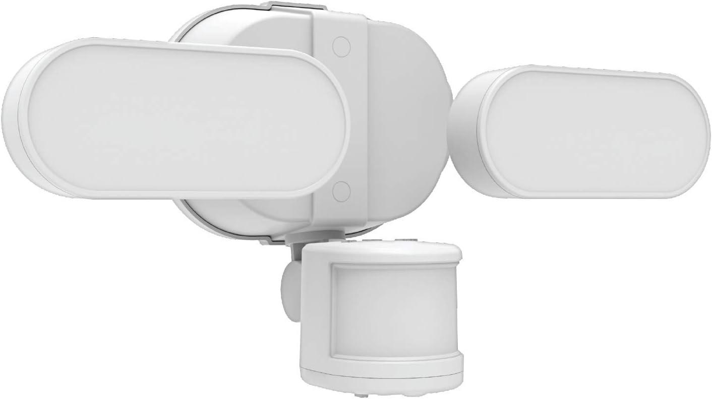 GE LED+ Linkable Motion Sensor Light, Outdoor Flood Light Fixture, Daylight, 250-Watt Replacement, Security Light