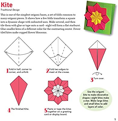 How to make Origami Kite   Making Kite out of Paper ...   400x384
