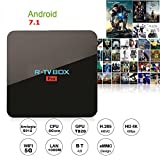 Android 7.1 R-TV BOX Pro 3GB DDR4 32GB eMMC Amlogic S912 4K 60FPS TV BOX 2.4G/5G WIFI Bluetooth 1000M LAN DLNA Miracast