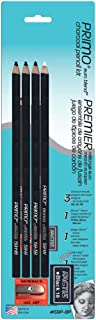 product image for General Pencil 59P-BP Primo Euro Blend Charcoal Pencils,Multicolor