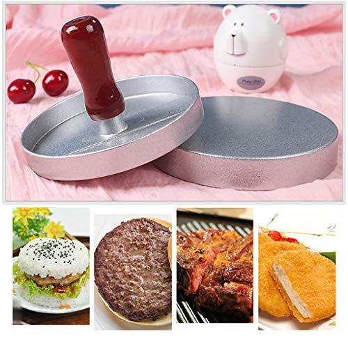 ️ Yu2d ❤️❤️ ️Hamburger Press Stuffed Burger Meat Grill Patty Burger Maker Mould Tool -