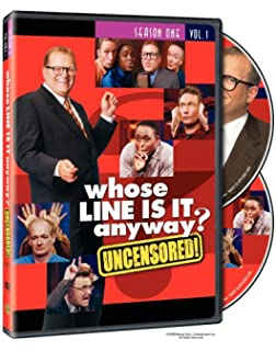 Amazoncom Whose Line Is It Anyway Season 1 Vol 2 Drew