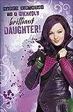 Disney Descendants vers une Wicked brillant carte d'anniversaire pour fille