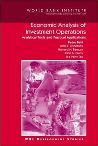 Book Economic Analysis of Investment Operations: Analytical Tools and Practical Applications (WBI Development Studies) by Jee-Peng Tan (2001-02-01)