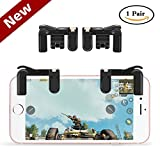 Cheap LREGO PUBG Mobile Game Controller,Sensitive Shoot and Aim Button Game Joystick L1R1 for PUBG Mobile/Knives Out/Rules of Survival, Smart Phone Game Trigger for iOS & Android(1 Pair)