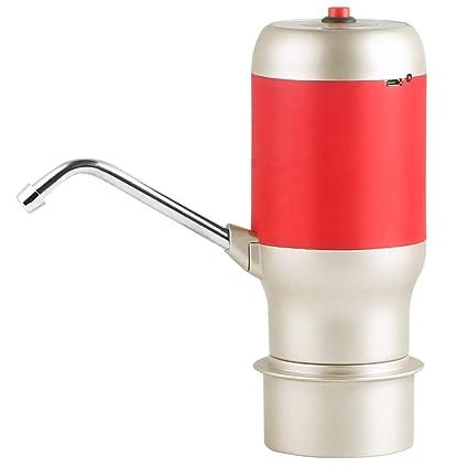 H&RB Agua Potable Bomba Dispensador Eléctrico 5 Galones Botella Escritorio Top Potente Rotativo Portátil para Casa