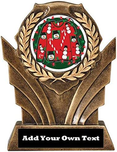 Ugly Christmas Sweater Victory Resin Trophy (6.5